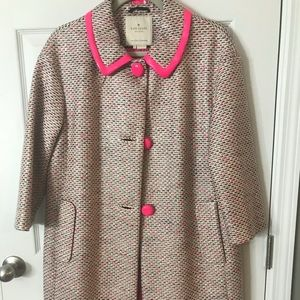 Kate Spade rain jacket 3/4 length sleeves size 10
